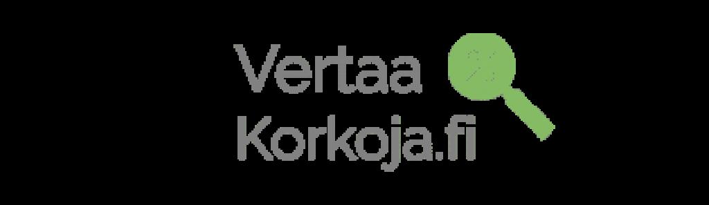 Vertaakorkoja.fi logo